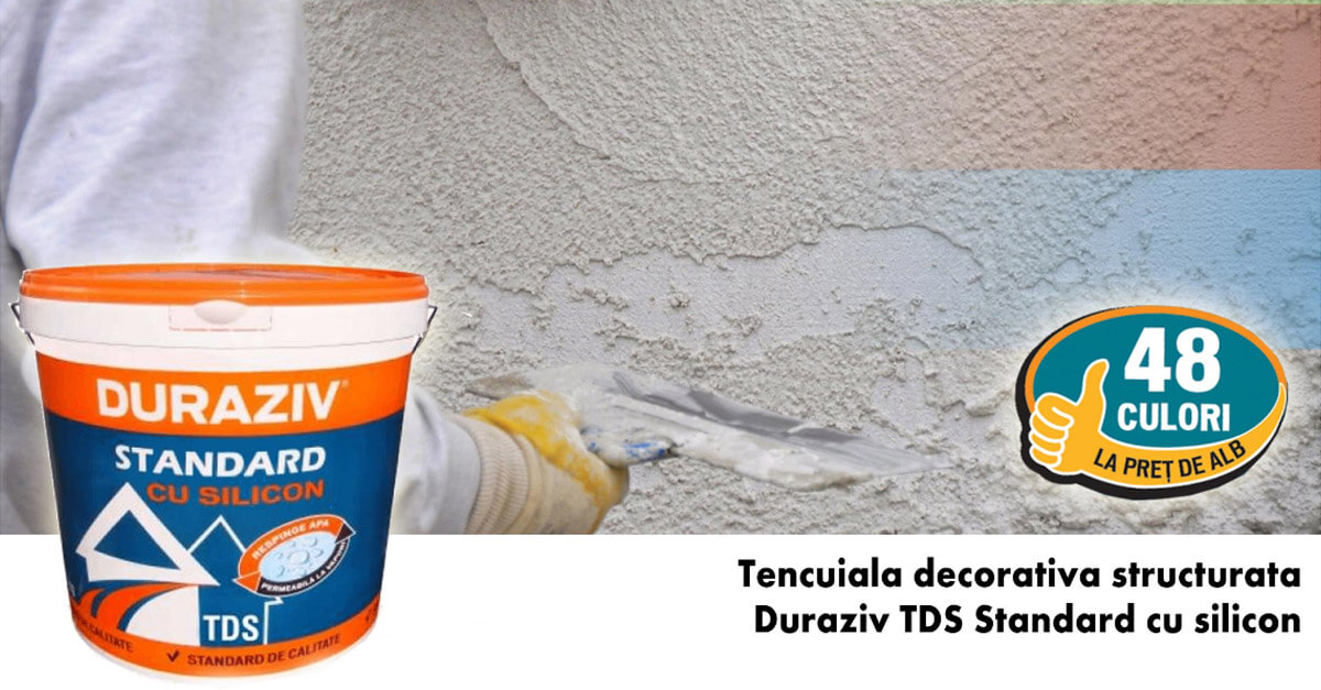 Duraziv TDS Standard cu silicon la doar 89 lei
