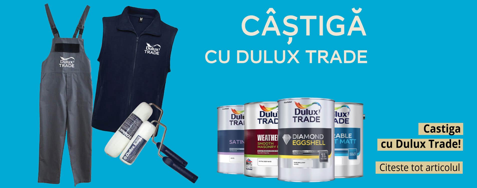 Castiga cu Dulux Trade