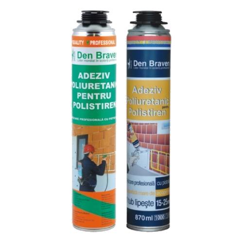 Den Braven Adeziv-spuma poliuretanica pentru polistiren
