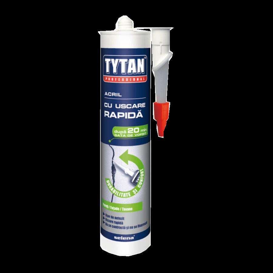 Tytan acril alb