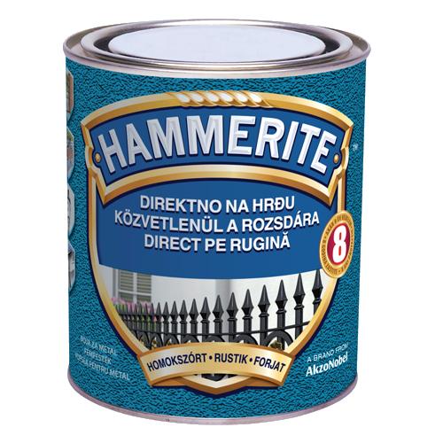 Hammerite efect fier forjat