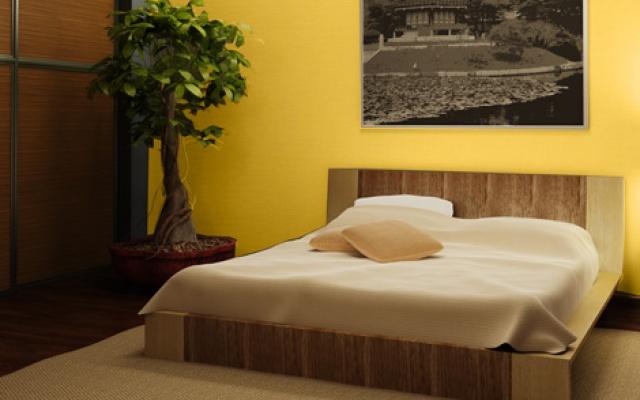 Vopsea lavabila Savana pentru dormitor